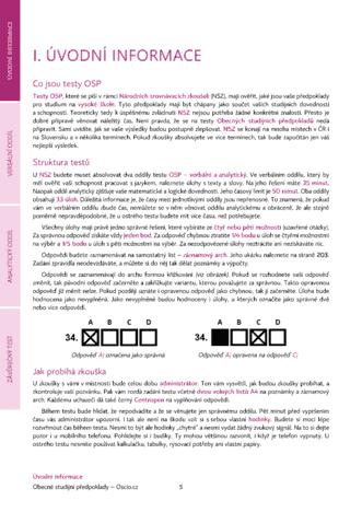 Popis testů Scio z učebnice OSP